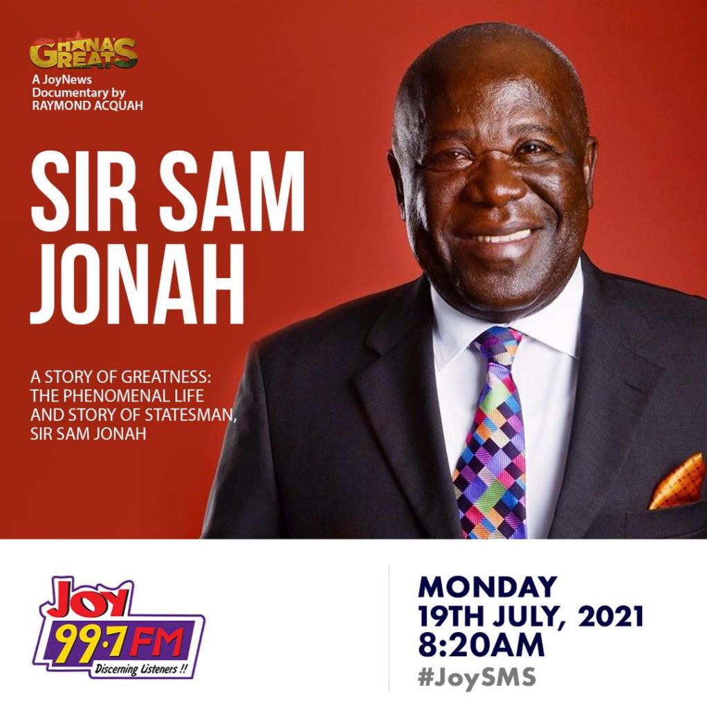 Sam Jonah's greatest legacy is grooming young generation - Kweku Awotwi