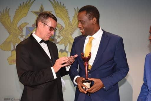 Western Regional Minister honoured at Better World Fund Cannes Film Festival