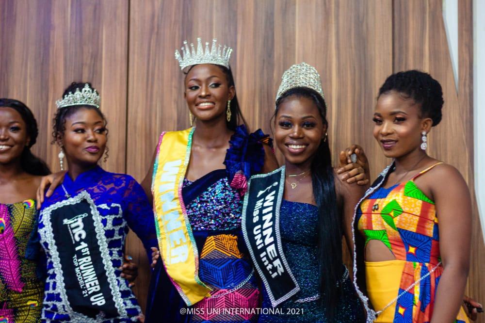 Central University's Fiadzigbe Erica Delali crowned Miss UNi International