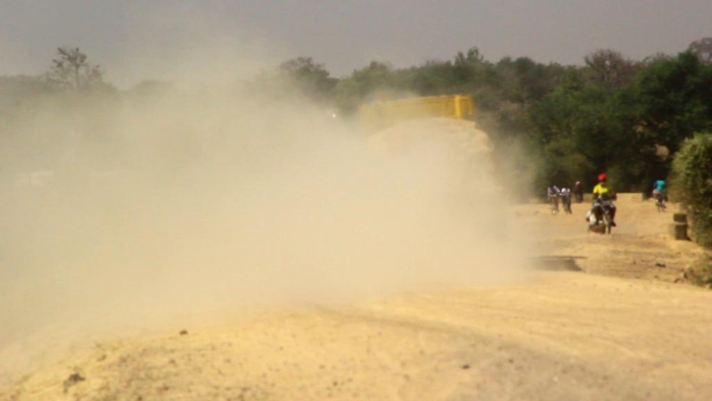 Neglected Bongo-Namoo road in bad shape
