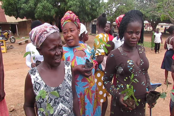 Bono Region Activista campagns against synthetic agrochemicals