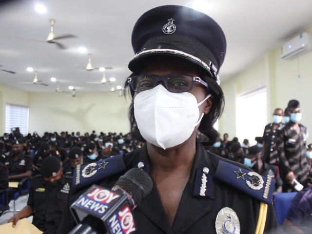 Central Region Police dispatches nearly 150 new recruits, assures public of increased police visibility
