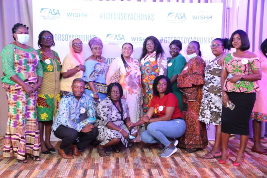 American Soybean Association and World Initiative for Soy in Human Health launch 'Go for Soya Chunks' campaign in Ghana