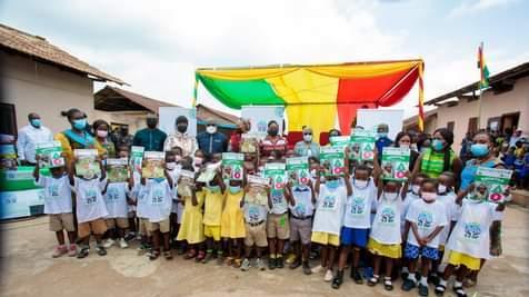 Samira Bawumia donates education materials to boost early childhood mathematics in Akuapem North
