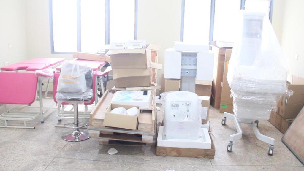 Rotary Club equips maternal unit of Sunyani Municipal Hospital