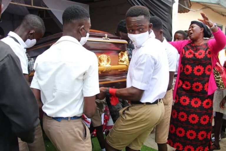 Murdered momo vendor buried as family calls for investigations