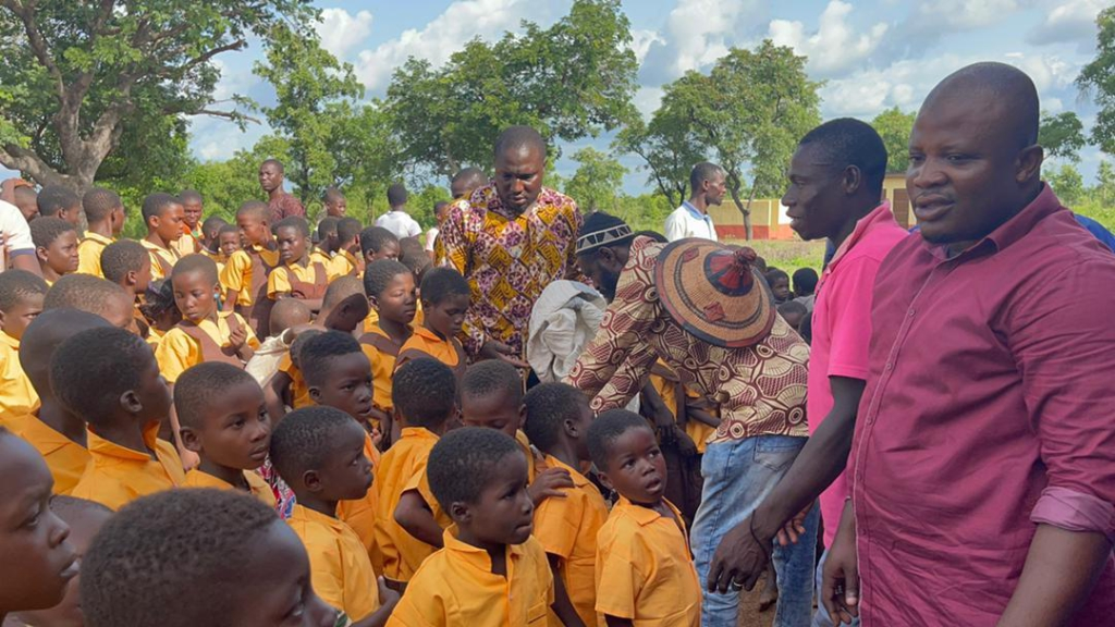 Mion MP donates school uniforms to students in his constituency