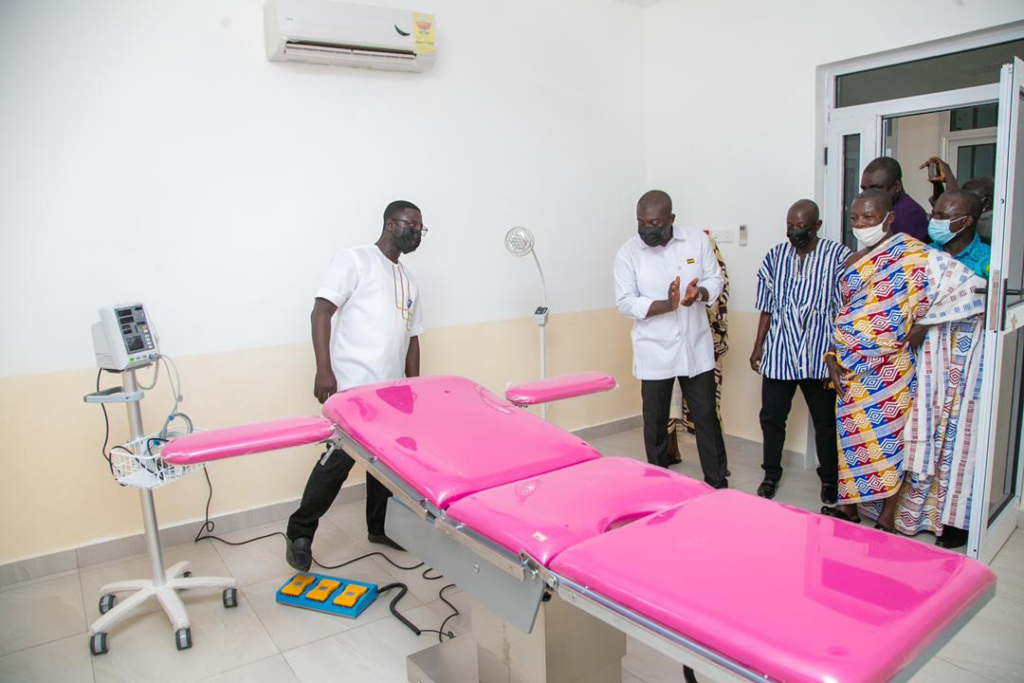 Ofoase Ayirebi MP provides maiden medical theatre to support first doctor to serve district