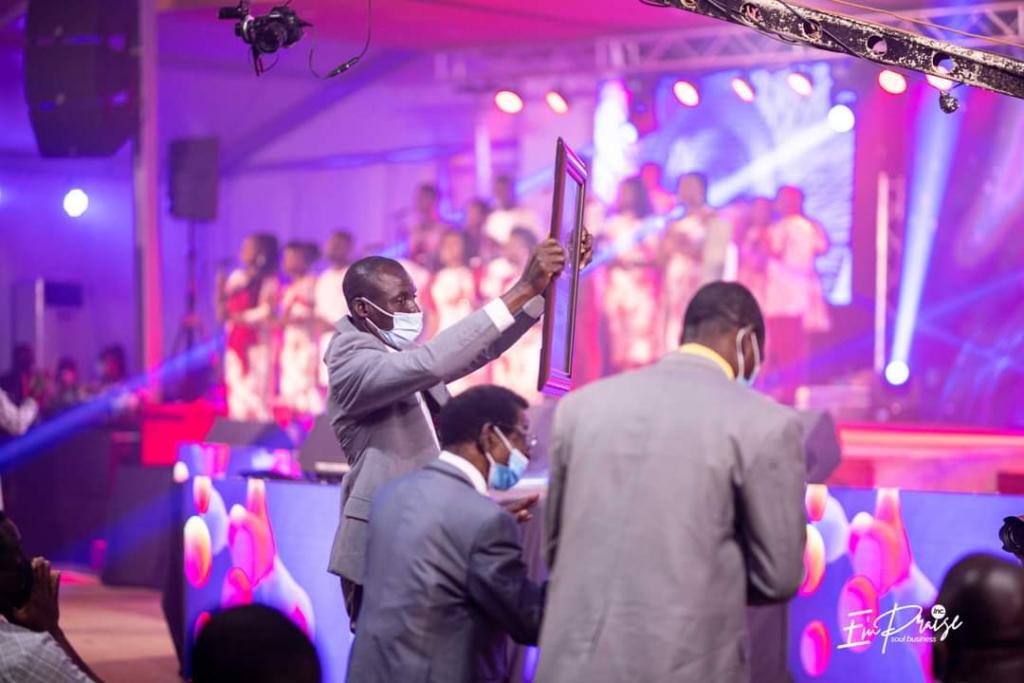 E'mPraise honours Elder Samuel Kofi Ampiah with Psalmist Award