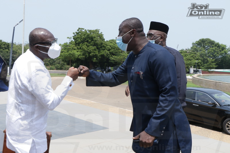 Photos: Ken-Ofori Atta delivers Mid-Year review budget to Parliament