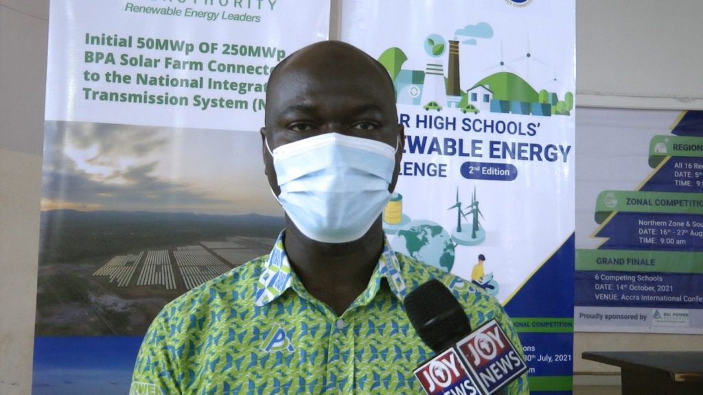 Ideas to increase share of renewable energy is hidden in you - Bui Power Authority to students