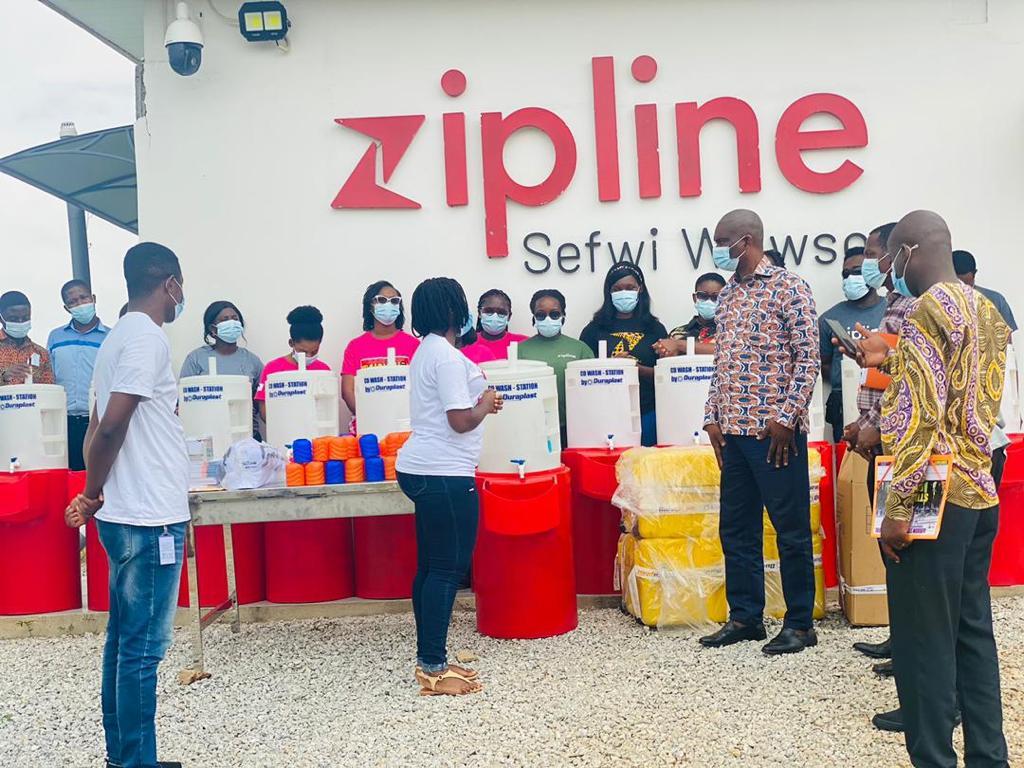 Duraplast partners Zipline in blood donation drive