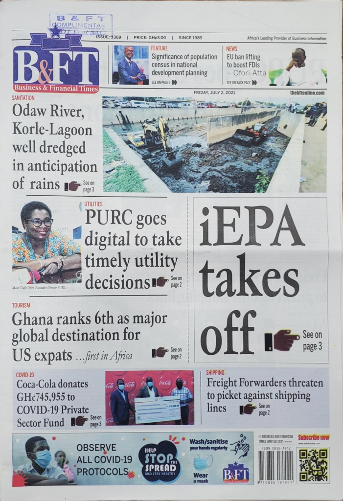 Today's front pages: Friday, July 2, 2021
