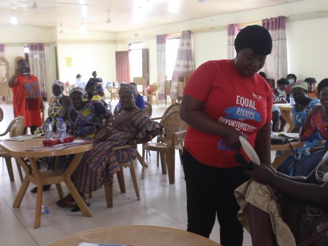 NGO builds capacity of women in business in 10 communities in Central Region