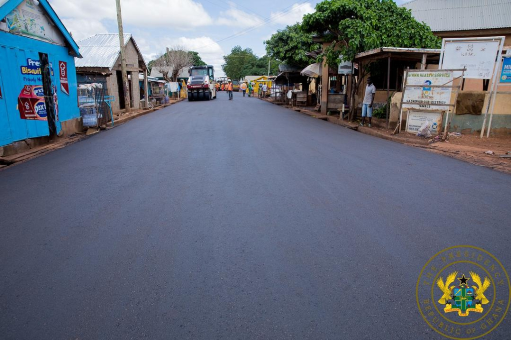 Tamale interchange 80% complete; Daboya stretch to be finished in November 2023