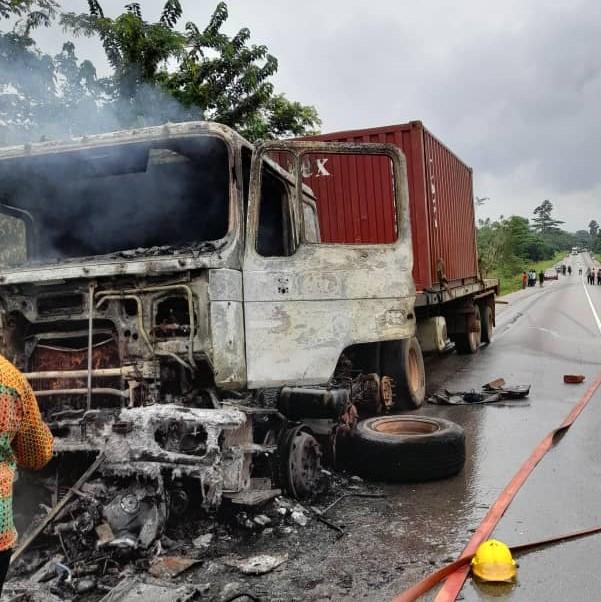 Bagbin Convoy accident www.myjoyonline.com