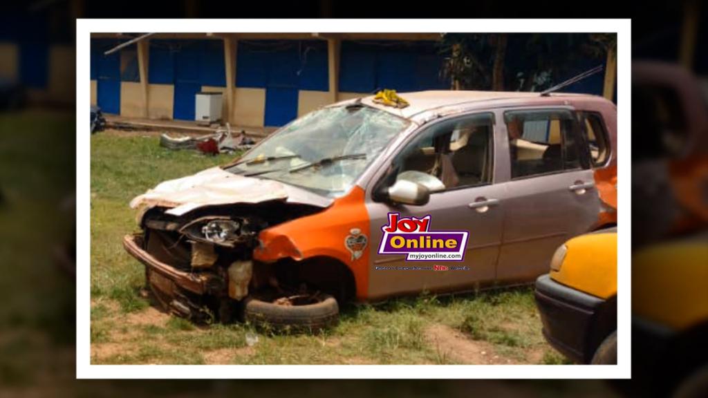 Banko accident car www.myjoyonline.com