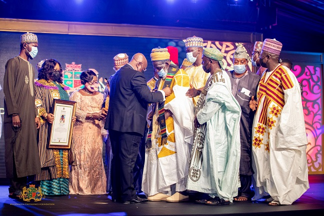 Ekua Zara Awonana Ghartey-Tsagli wins Empowerment Women Personality at Millennium Excellence Award