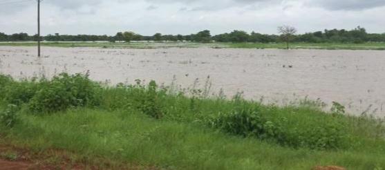 Torrential rain destroys some roads in Northern Region