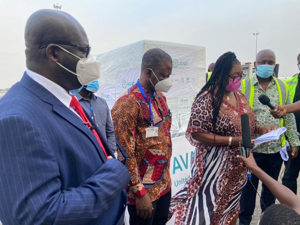 Ghana receives over 177,600 Johnson & Johnson Covid-19 vaccines