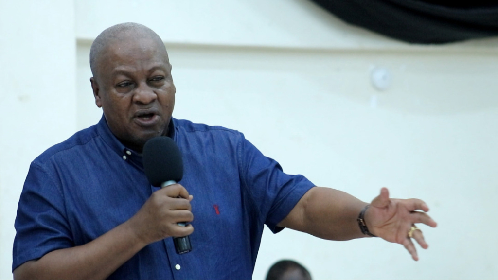 NPP can only be held accountable if voted out in 2024 - Mahama
