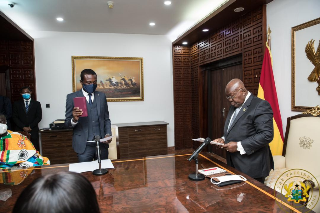 Kissi Agyebeng has capacity, experience and intellect to succeed as Special Prosecutor - Akufo-Addo