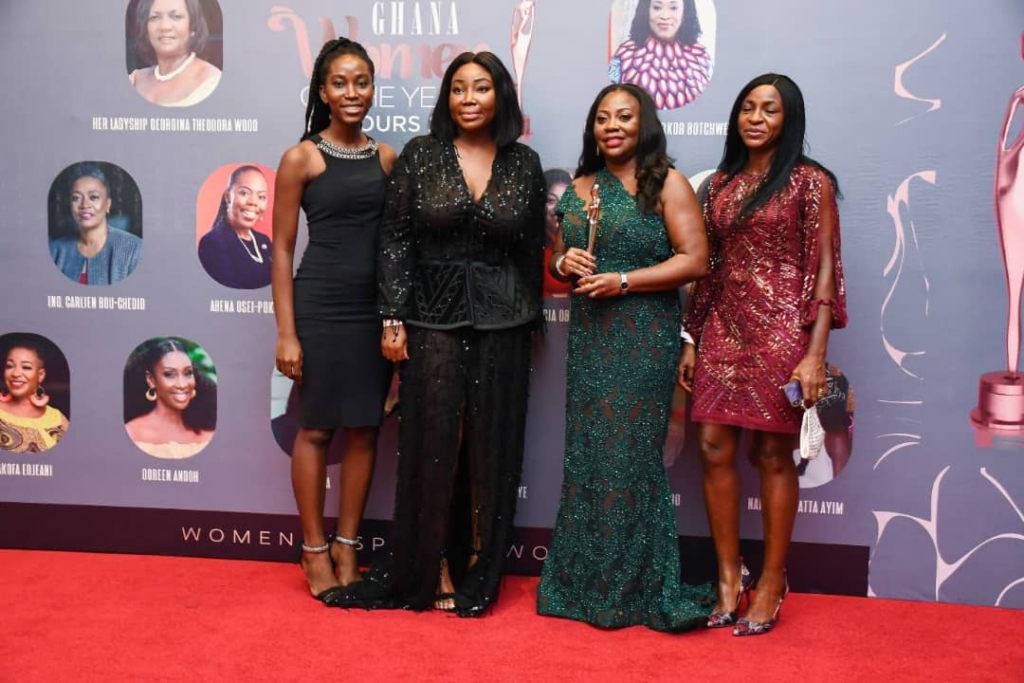 Vodafone CEO wins Ghana Women of the Year Honours, Technology Category