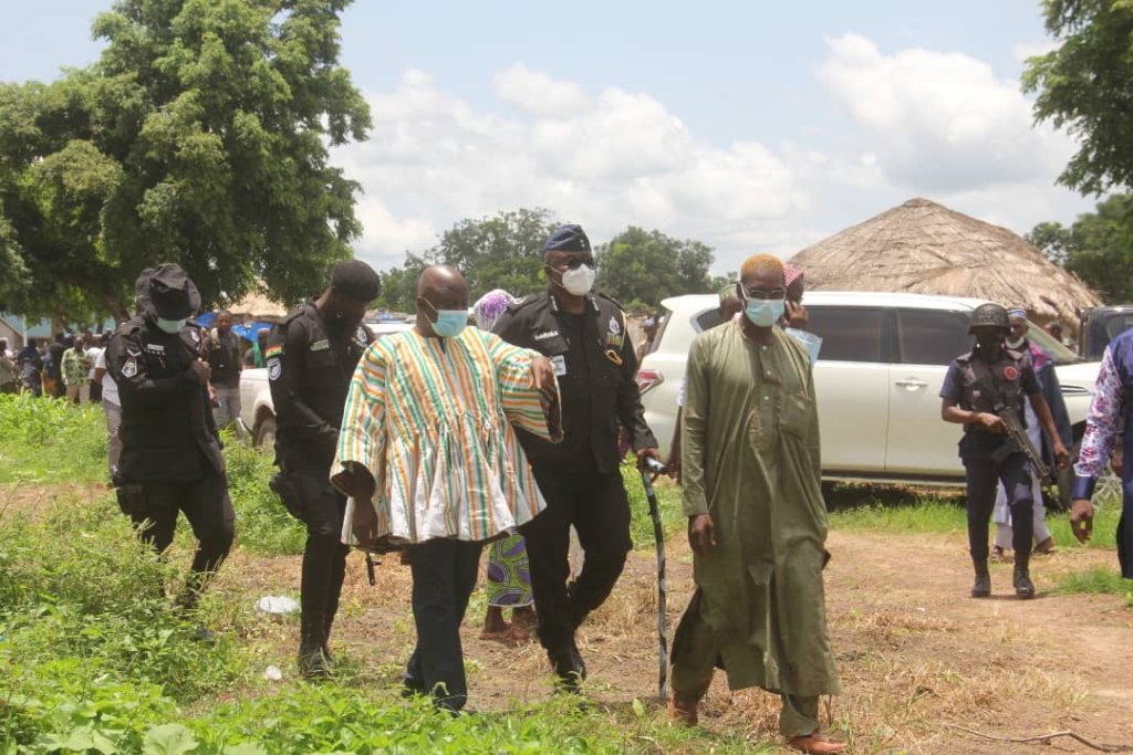 Fulani settlement at Widnaba attacked, houses torched