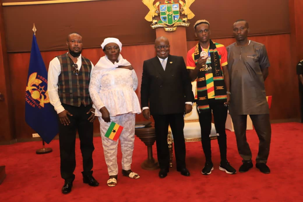 Tokyo 2020: President Akufo-Addo gifts Ghana's only medalist Takyi $30k and a new car