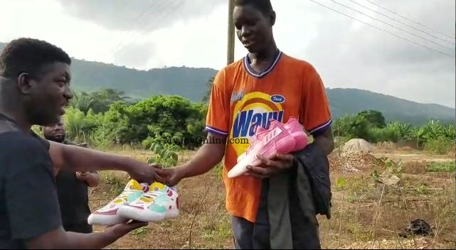 Joy News gets results: The Bridge Zone extends help to the tallest man in Volta Region