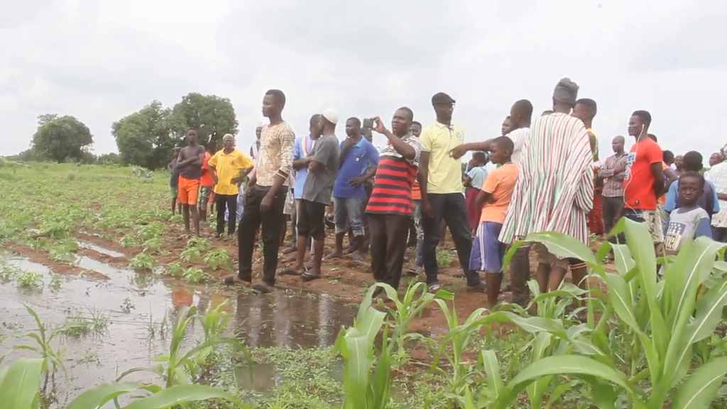 About 40 houses flooded in Upper East Region