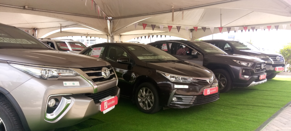 Toyota Ghana's Automark to address market demand for used cars