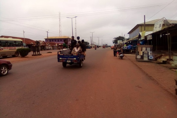 Motorbikes, tricycles contributing to road accidents in Wenchi Municipality