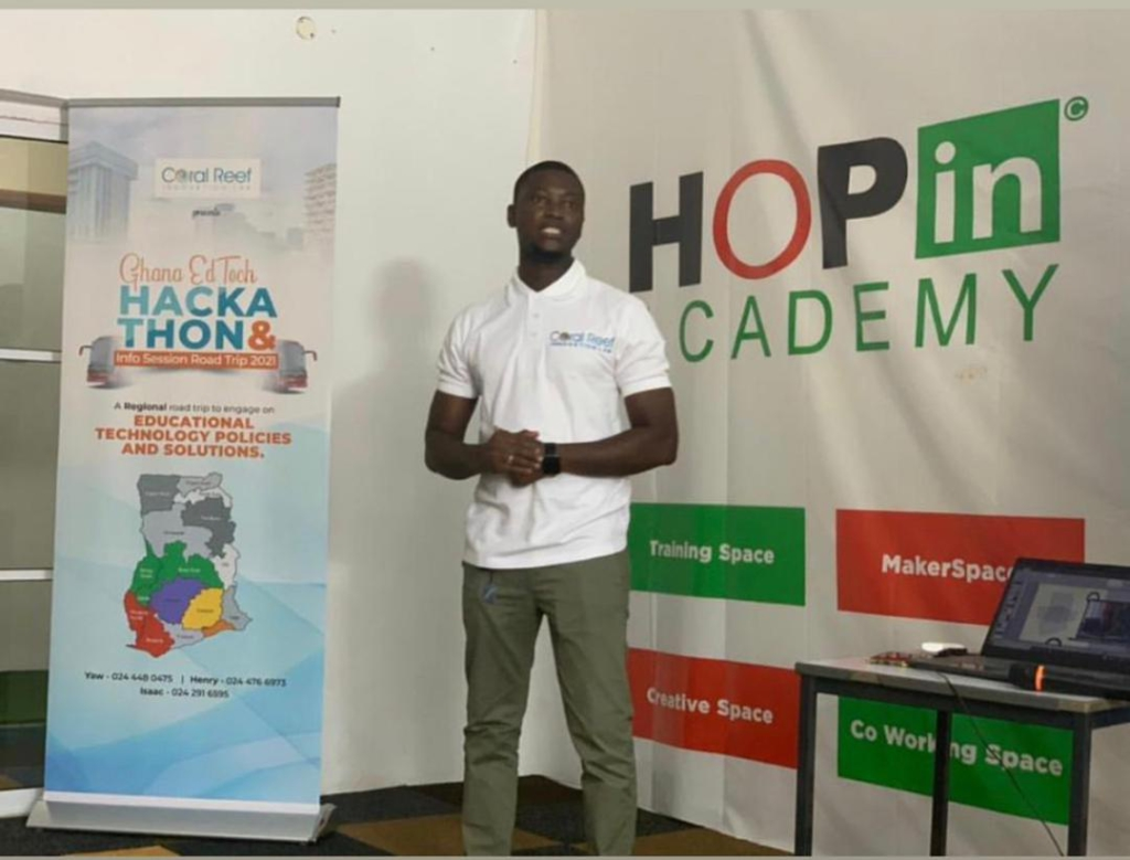 Coral Reef Innovation Lab introduces Edtech Ghana Hackathon 2021 to improve teaching and learning