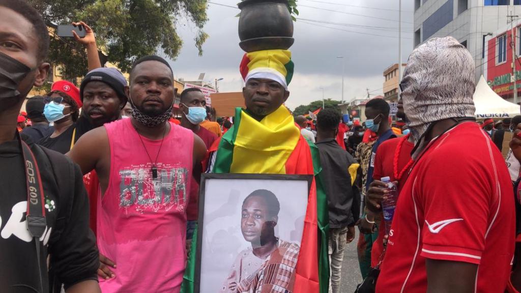 Photos: #FixTheCountry protestors embark on demo