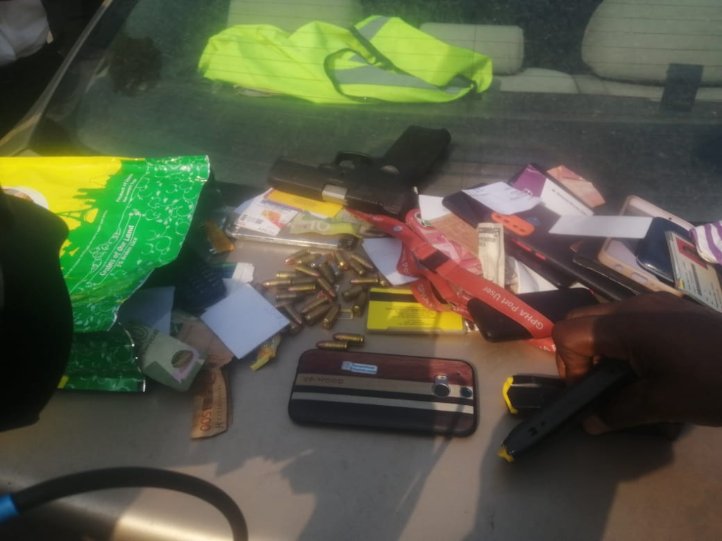 3 suspected armed robbers dead in a gunfight with Police at Shiashie