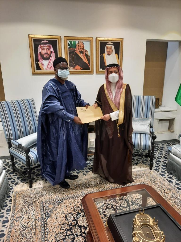 Ambassador Alhaji Mohammed Habib Tijani pledges to enhance Ghana - Saudi Arabia relations