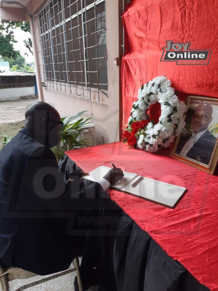 Attorney General, Godfred Dame commiserates with Justice Marful-Sau's family