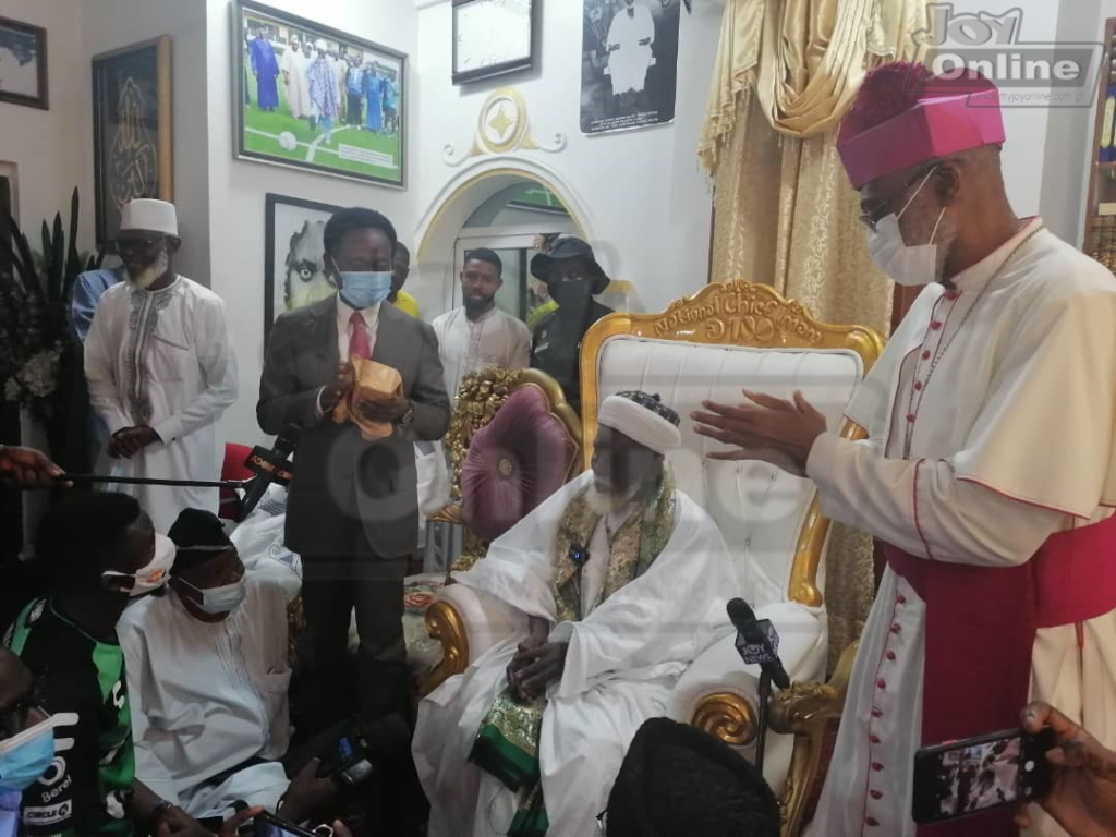 Chief Imam contributes ¢50k towards construction of National Cathedral