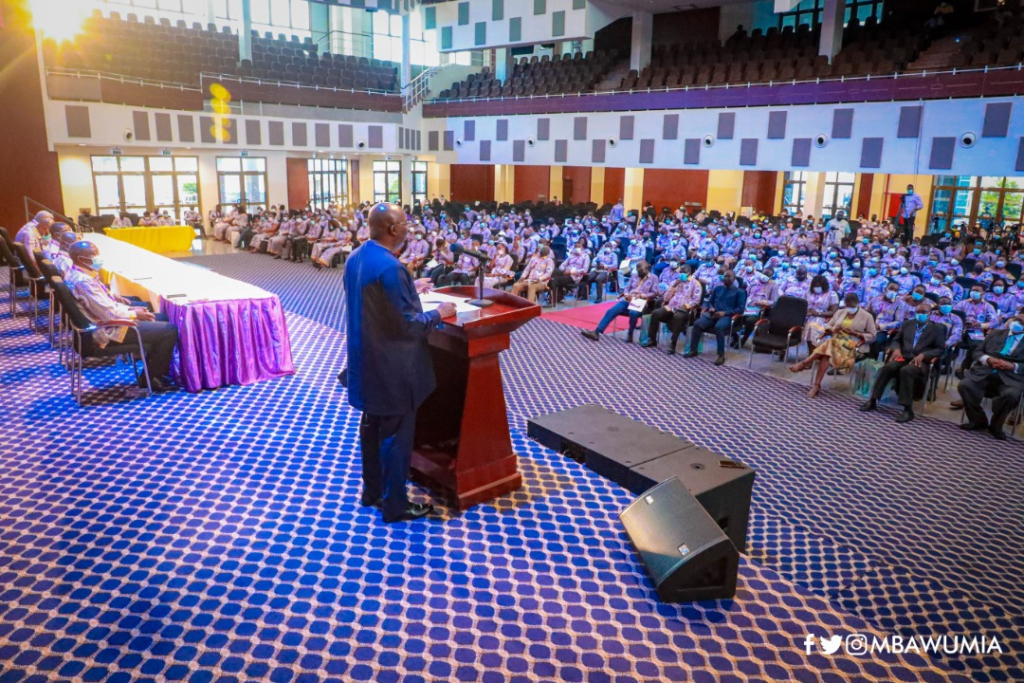 Bawumia shares defining first-term legacies of Akufo-Addo's government with ICU