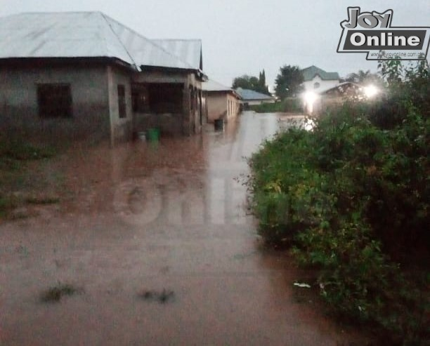 Parts of Tamale flooded, many displaced