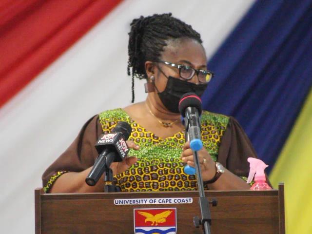 Beware of digital footprints, don't put your nude photos, videos on the internet - Ursula Owusu