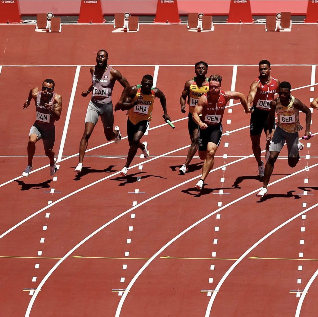 Tokyo 2020: Ghana's 4x100 men's team qualify for final after breaking national record