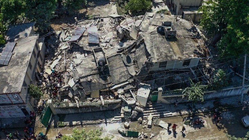 Haiti struck by deadly 7.2-magnitude earthquake