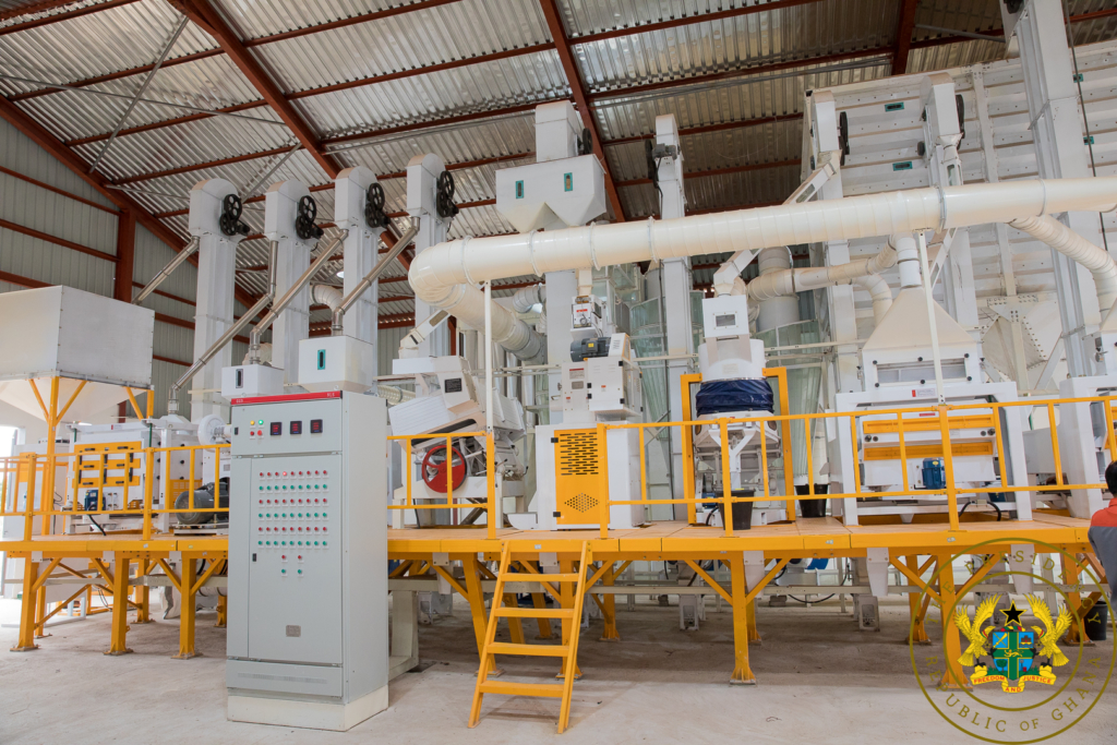 1D1F: Akufo-Addo commissions ¢6.7m Sefwi Akontombra Rice Factory