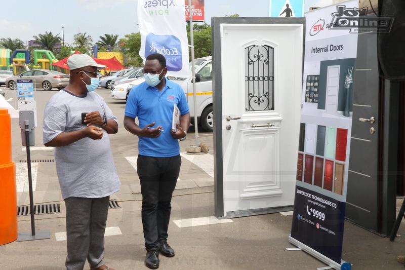 Photos: Ecobank-JoyNews Habitat Fair mini-clinic opens