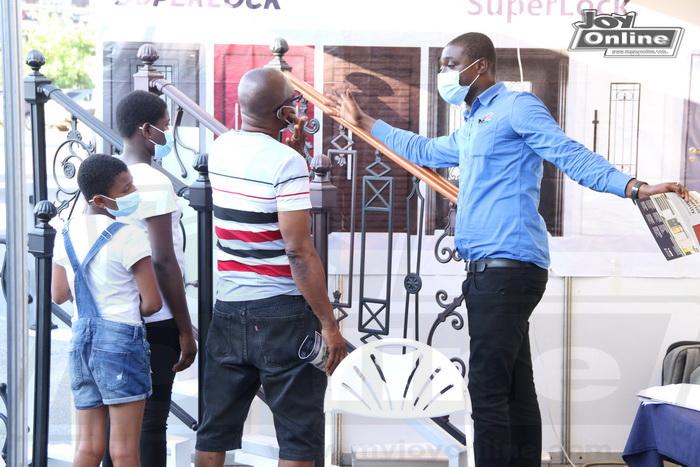 Photos: Second mini-clinic of JoyNews-Ecobank Habitat Fair ends
