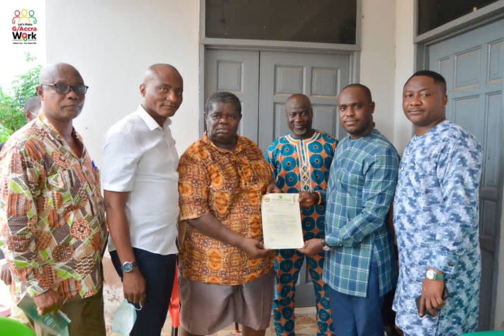 Henry Quartey supports Psalm Adjeteyfio with part of his salary