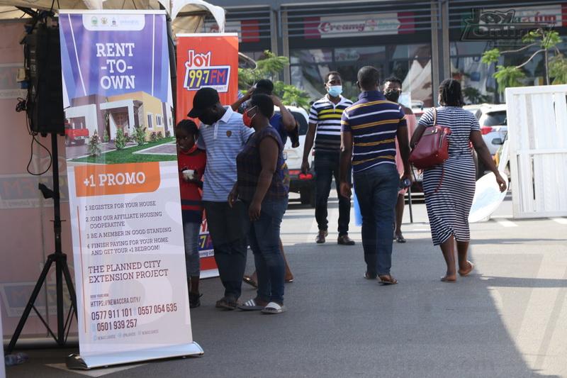 Photos: Patrons ask for extension as 1st Ecobank-JoyNews Habitat Fair 2021 mini-clinic ends