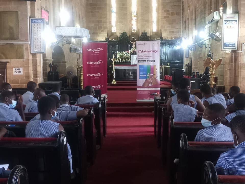 Enterprise Group holds financial literacy seminar for students and parents of Bishops Mixed School